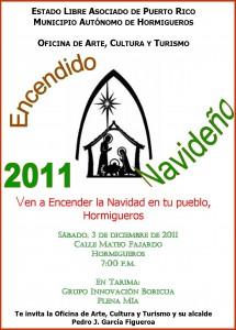 Encendido Navideño 2011 en Hormigueros