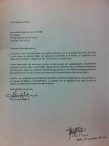 Representante Ferrer Ríos renunció hoy a su escaño cameral