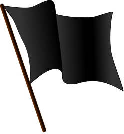 249px-Black_flag_waving