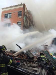 Poderosa explosión en Nueva York deja 17 heridos