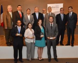 Colegiales ganan Premio Abertis