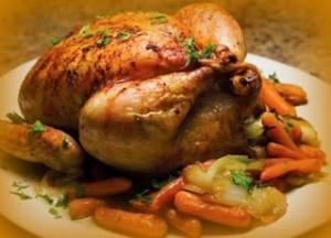 La Cocina de Cuchy: Pollo fresco relleno de vegetales