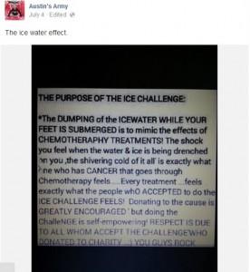El verdadero origen del reto de la cubeta de agua con hielo