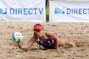 Exitoso primer día de competencias voleibol playero NORCECA en Boquerón