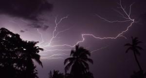 Urgente: Fuerte tormenta eléctrica sobre Añasco y Mayagüez