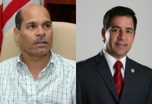 """Alcalde de Santa Isabel se pone """"guapo"""" y agrede a representante """"Pito"""" Torres"""