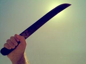 Agreden a machetazos a vecino de San Sebastián
