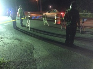 Colapsa parte de la carretera PR-111 en Moca