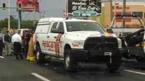 Hombre muere tras chocar contra un camión en Hatillo