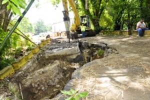 Reabierta carretera PR-125 en Moca