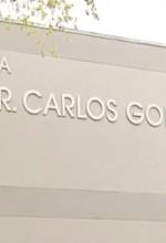 Fachada de la Escuela Superior Dr. Carlos González, en el barrio Guaniquilla de Aguada (Archivo).