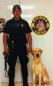 Muere perro de la Policía de un infarto provocado por explosiones de pirotecnia