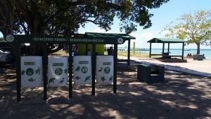 """DRNA restaura área recreativa e instala """"Estación Verde"""" en El Combate"""