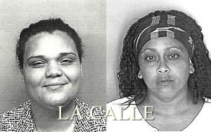 Fotos de las fichas de Maricelis Ruiz Velázquez y Yahaira Rivera Andino (Suministradas Policía).