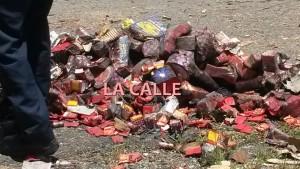 Sacan por montones residuos de pirotecnia ilegal de escena de fuego en Hormigueros