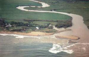 Se desborda el río Culebrinas tras fuertes lluvias… Intransitable la PR-115 en Aguada