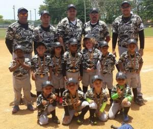 Subcampeones de Puerto Rico niños de la selección de béisbol mayagüezana