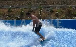 """""""No hay sequía en el Oeste"""": En pie apertura del parque acuático Surf 'N Fun el 4 de julio"""