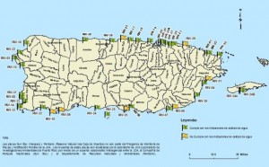 Candente polémica entre Calidad Ambiental y comerciantes de Guánica