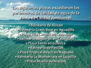 Calidad Ambiental declara 9 playas no aptas para bañistas en la Isla