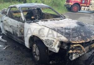 Mujer policía víctima de accidente ocurrido esta madrugada en Sabana Grande