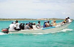 Atrapan 5 indocumentados esta madrugada cuando intentaban desembarcar por Isabela