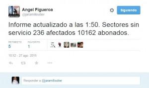 No ha llegado Erika y hay más de 6 mil abonados sin luz en Mayagüez y Moca
