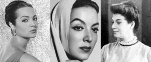 """Confunden en las redes sociales a """"La Bruja del 71"""" con Sara Montiel y María Félix"""