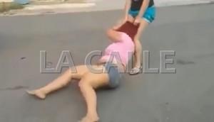 Fotocaptura del vídeo que circuló en las redes sociales y dio margen a la radicación de denuncias (Captura de pantalla LA CALLE Digital).