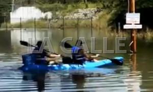 Sin agua hasta el domingo sectores de San Sebastián por toma tapada en planta de filtros (Vídeo)