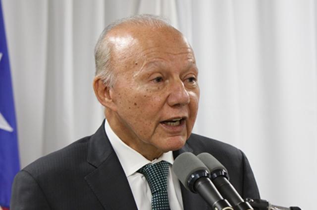 Licenciado César Miranda, Secretario de Justicia.