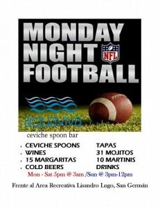 aquaviva football lunes