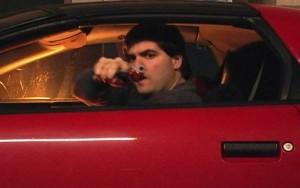disparos carro a carro