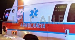 La mujer murió en el trayecto al hospital (Archivo).