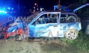 Escena del accidente en el barrio Altosano de San Sebastián (Foto OMME San Sebastián).