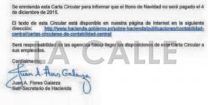"""""""Cero"""" pago del Bono de Navidad este viernes"""