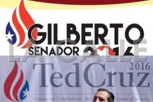 """A senador popular del Oeste parece que le gustó el """"logo"""" de candidato presidencial republicano y decidió usarlo"""