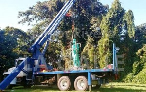 Trasladan estatua de Hostos al Parque de las Fuentes frente al Colegio de Mayagüez