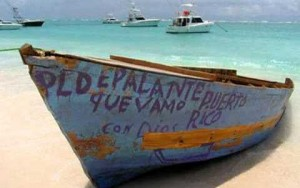 Encuentran esta mañana yola de indocumentados abandonada en Rincón