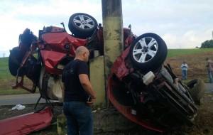 Mortal accidente de esta mañana en Bayamón resultado del exceso de velocidad