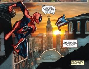 """¿Cómo? Marvel """"confunde"""" la bandera de Puerto Rico con la de Cuba en historieta del """"Hombre Araña"""""""