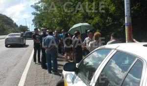 Familiares y amigos se reúnen donde fue asesinado hace 4 años el sargento Castro Berrocales