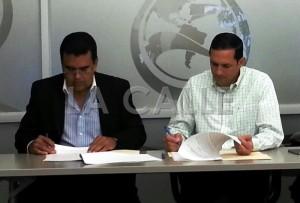 Firmado acuerdo en que Municipio de San Sebastián le presta $1 millón a AAA para completar obra