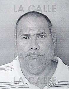 Foto de la ficha del agente Vergil Almodóvar Sánchez (Suministrada Policía).