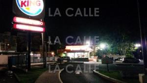 Tirotean esta madrugada Burger King de la calle Bosque de Mayagüez