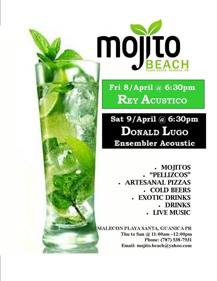 mojito beach weekend 8-9 abril
