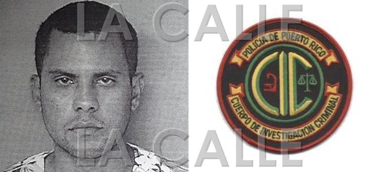 Foto de la ficha de Angel M. Rodríguez Ríos (Suministrada Policía).