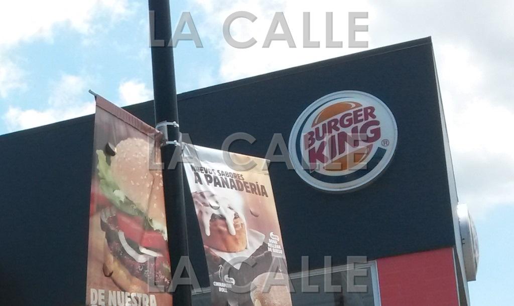 Otro Burger King fue asaltado en el Oeste(Archivo LA CALLE Digital).