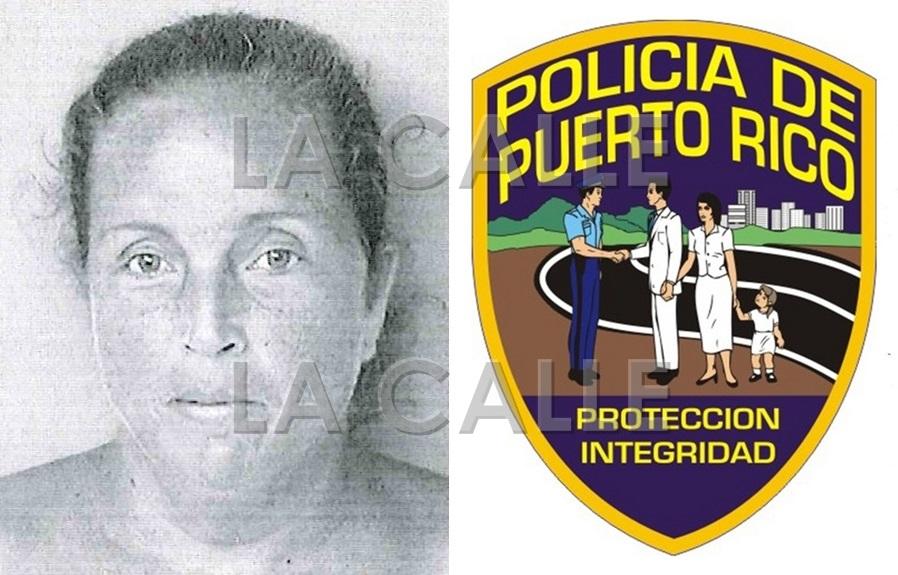 Foto de la ficha de Carmen Muñiz Pyatt (Suministrada Policía).