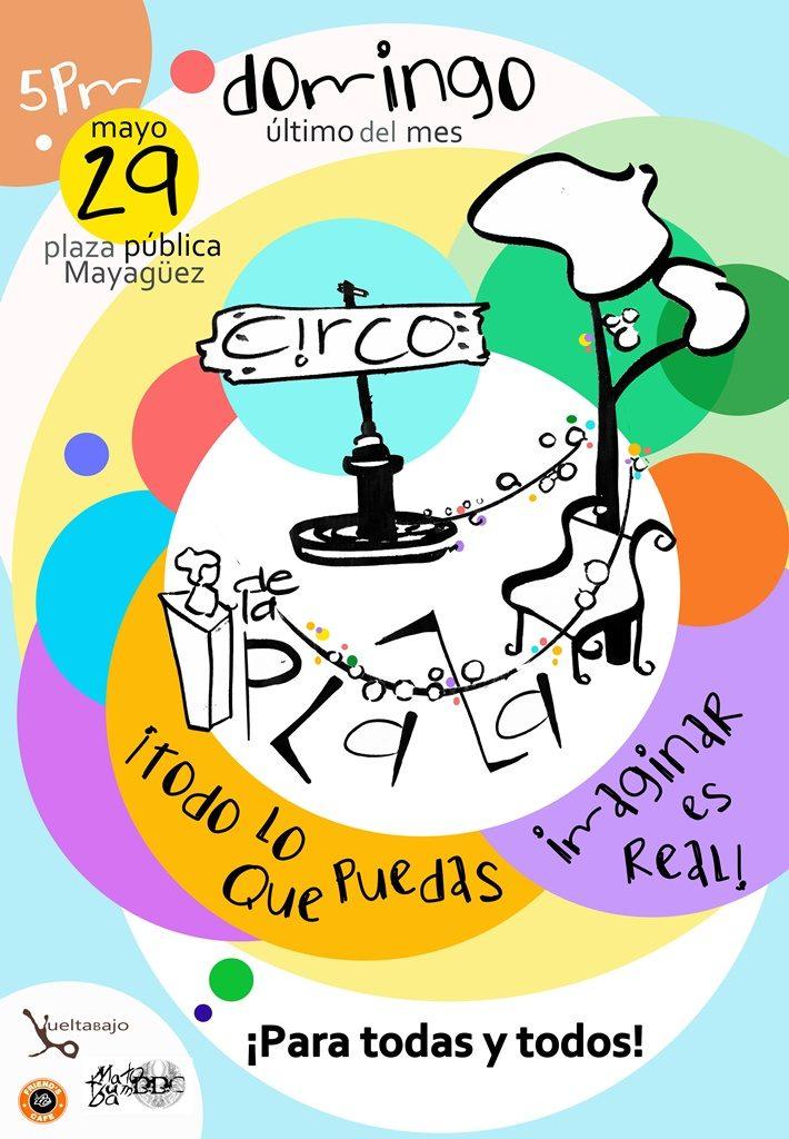 Cartel CIRCO DE LA PLAZA mayo